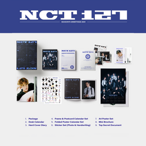 [Special Pre-Order] SMTOWN Artists Season's Greetings 2021 - NCT 127