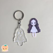 Load image into Gallery viewer, [Peppy Peach PH] It's Okay Not to Be Okay Acrylic Key Chains
