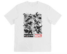 Load image into Gallery viewer, [PRE-ORDER] Super M x MARVEL T-Shirt