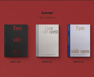 [PRE-ORDER] TWICE VOL.2 - EYES WIDE OPEN (RANDOM VER.)