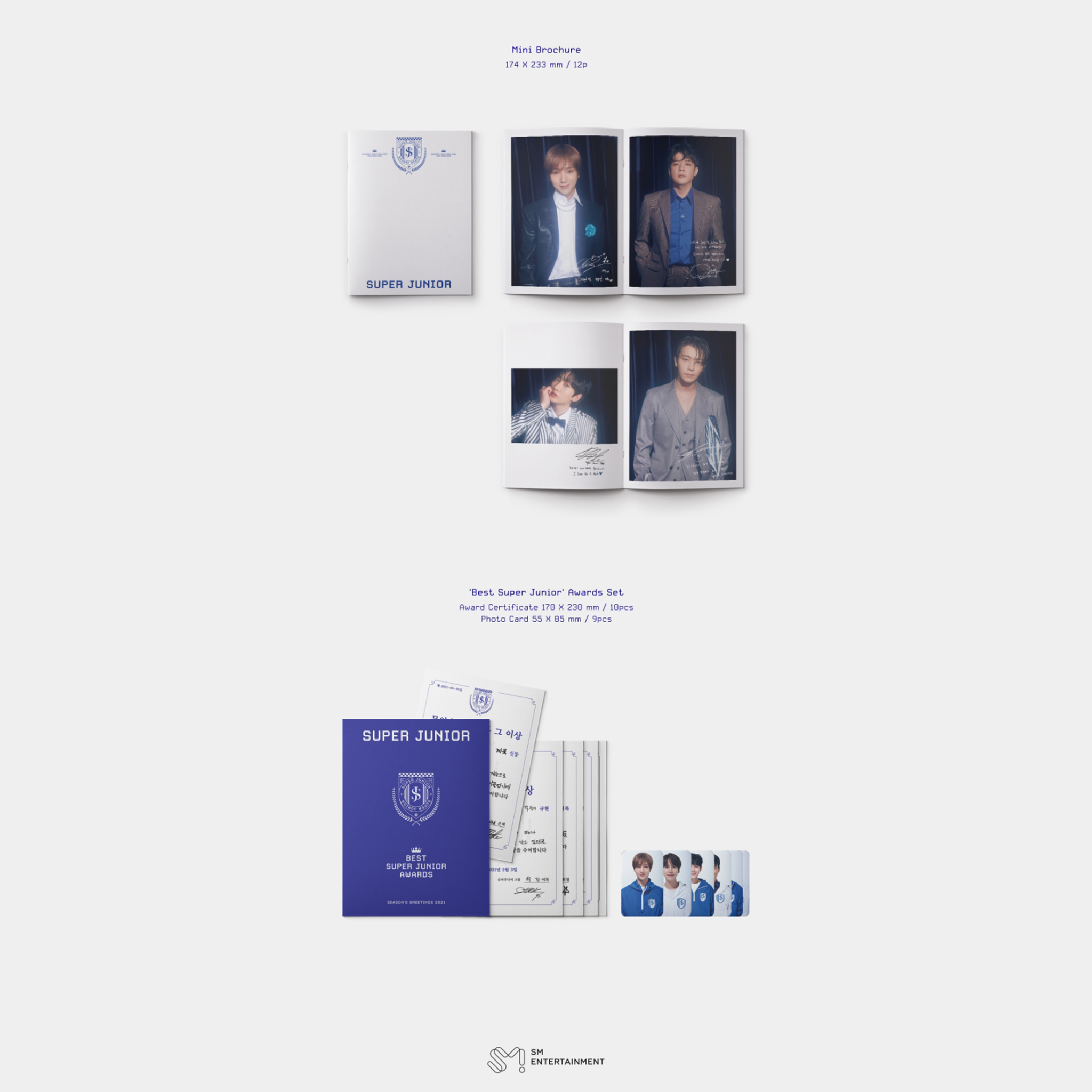[Special Pre-Order] SMTOWN Artists Season's Greetings 2021 - Super Junior