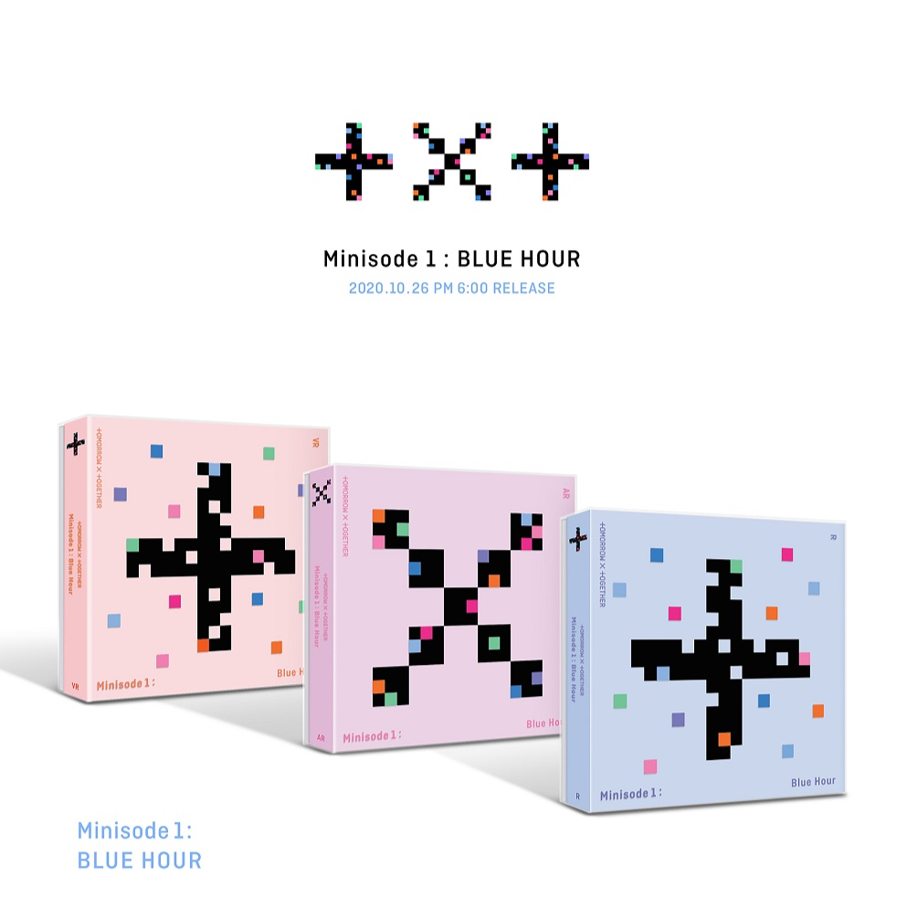 [PRE-ORDER] TXT (Tomorrow x Together) Album - Minisode 1: Blue Hour (RANDOM VER)