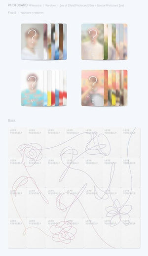 BTS - 5th Mini Album [LOVE YOURSELF 承 'Her'] DNA
