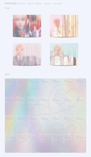 BTS - Repackage Album Vol.3 [LOVE YOURSELF 結 'Answer']