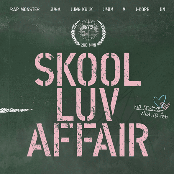 BTS 2nd Mini Album Skool Luv Affair