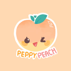 [Peppy Peach PH] It's Okay Not to Be Okay Sticker Set