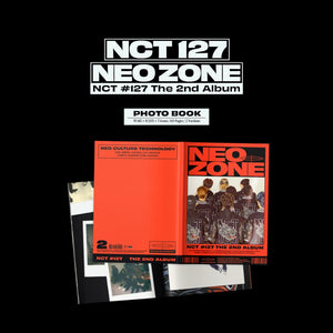 NCT127 The 2nd Album 'NCT #127 Neo Zone'