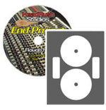 NEATO - FULL COVERAGE LASERGLOSS CD/DVD LABELS - 50 SHEETS TOTAL - 2 LABELS PER SHEET