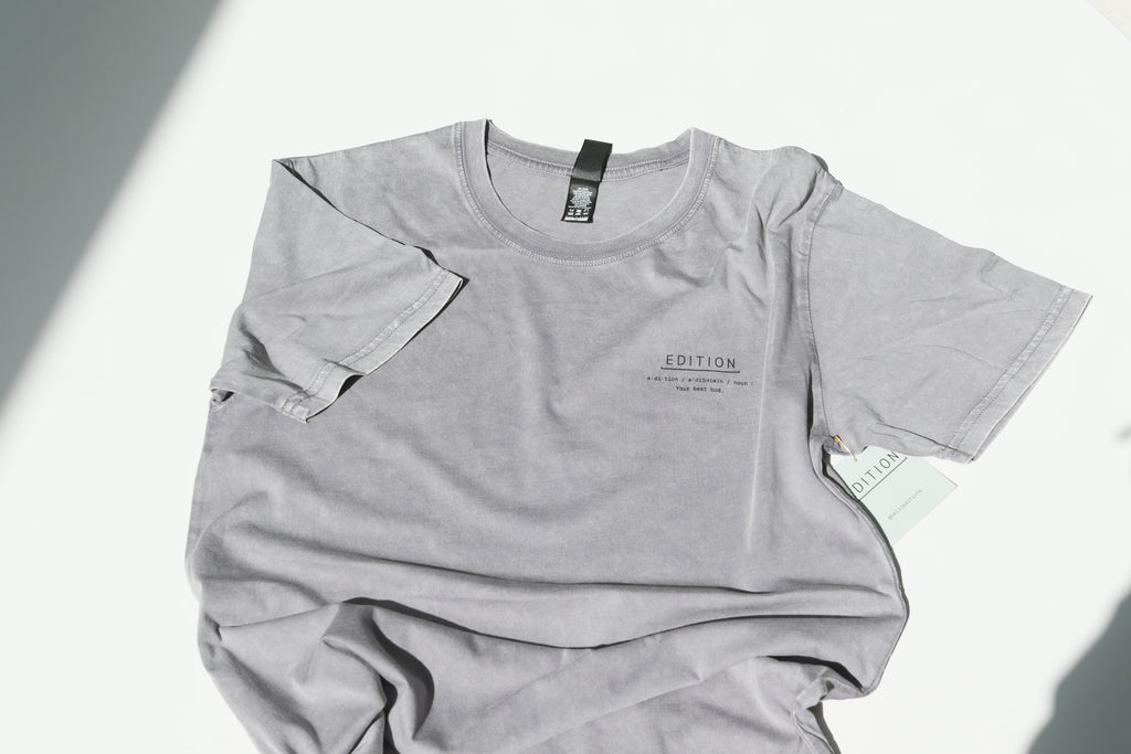 Edition Capsule 001 - Definition Charcoal T-Shirt