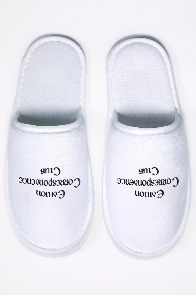 Edition Correspondence Club Slippers