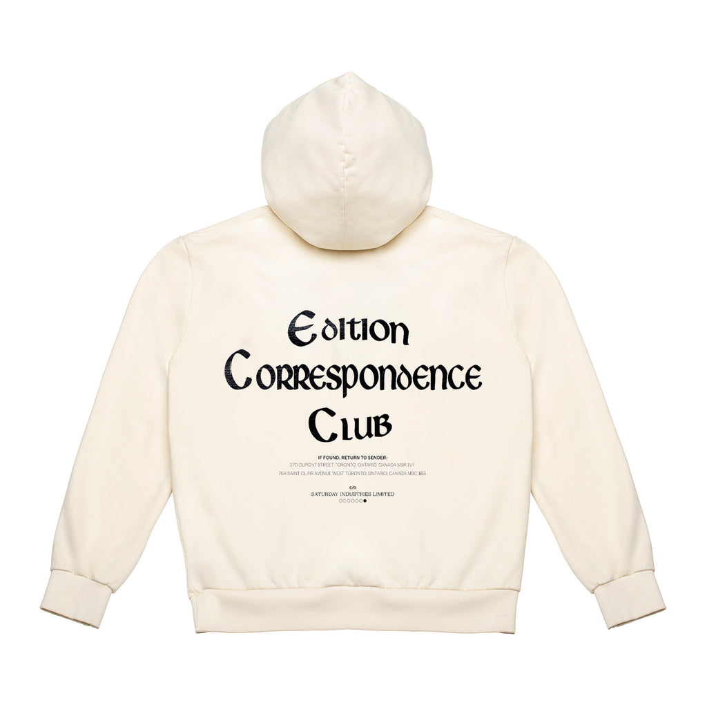 Edition Correspondence Club Hoodie