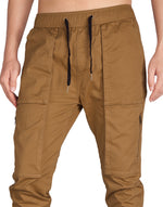 Load image into Gallery viewer, Man Designer Cargo Pants Camel - italymorn