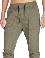 Load image into Gallery viewer, Man Designer Cargo Pants Grey Green - italymorn