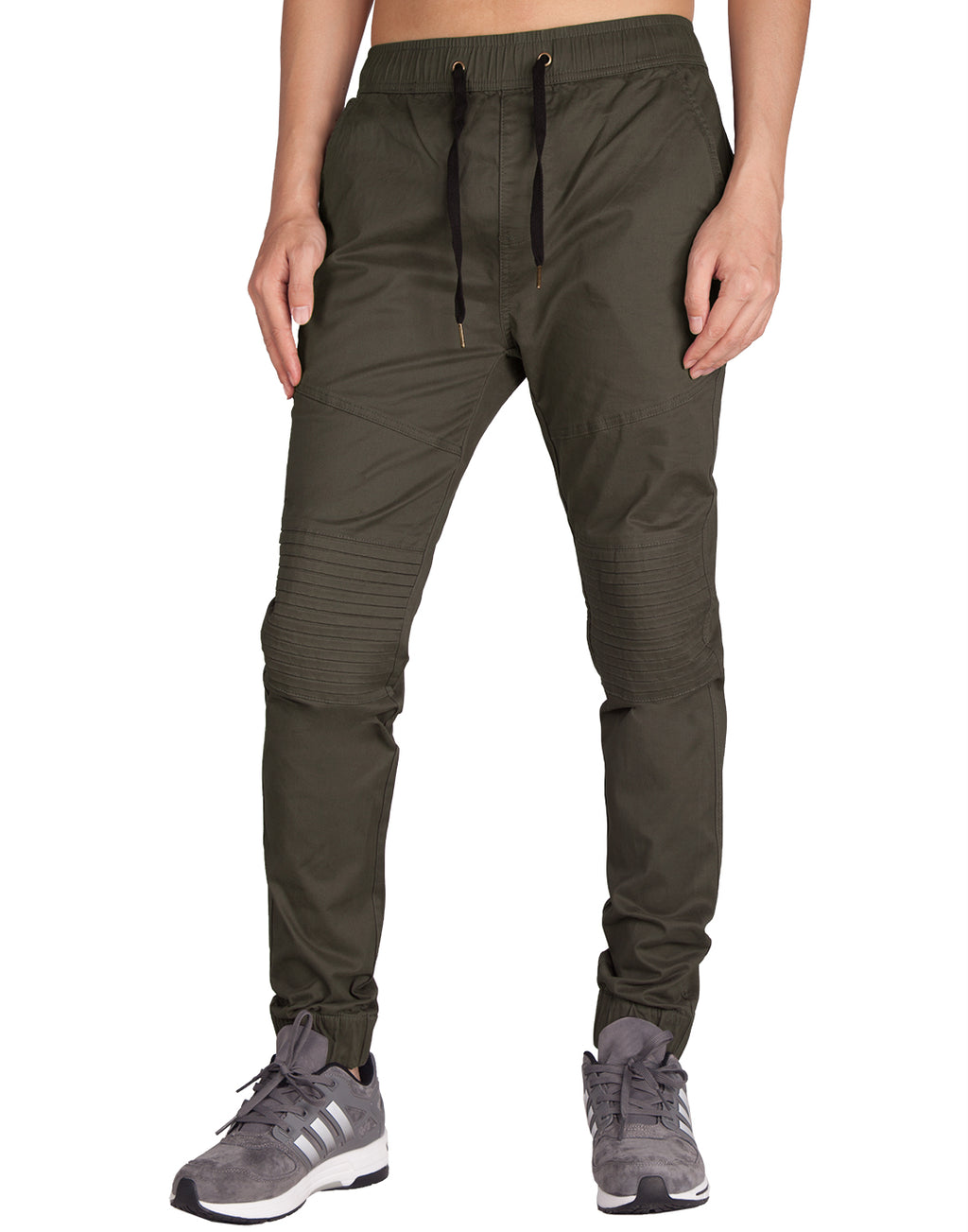 Man Biker Skateboard Jogger Pants Chocolate - italymorn