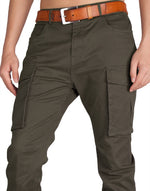 Load image into Gallery viewer, Man Cargo Pants Chocolate - italymorn