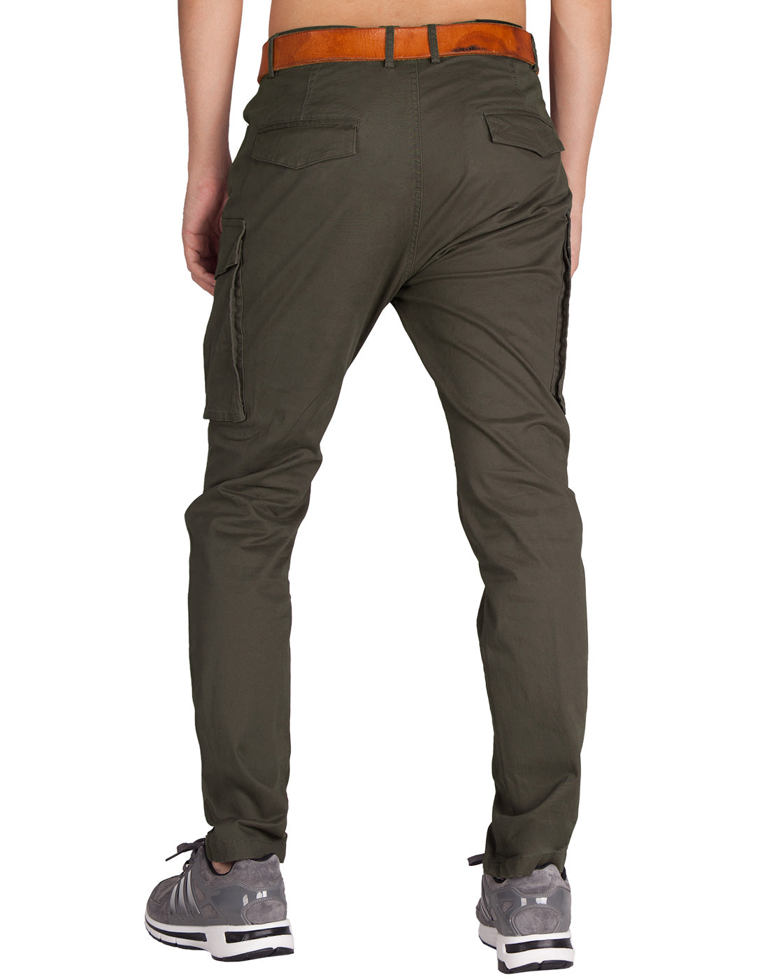 Man Cargo Pants Chocolate - italymorn
