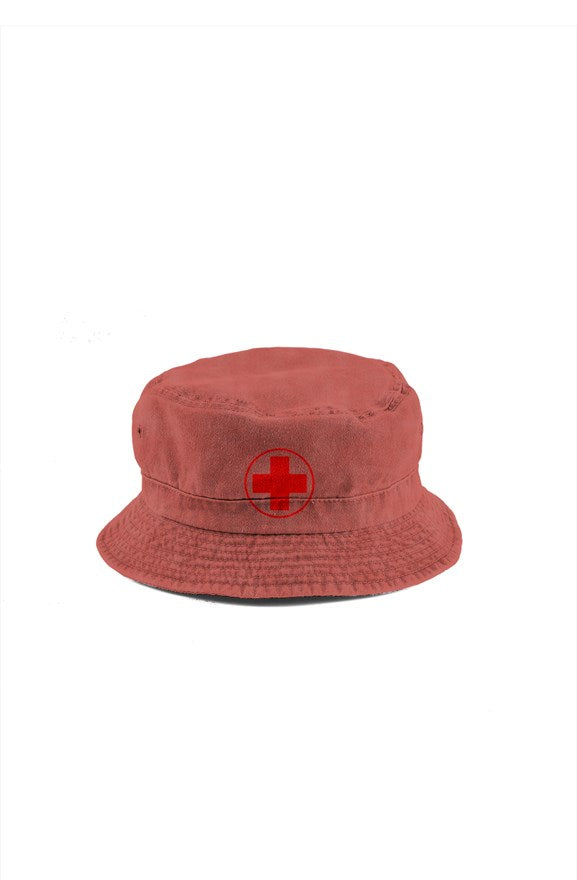 Red Cross Bucket Hat