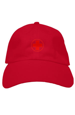 Open image in slideshow, Red Cross Cap