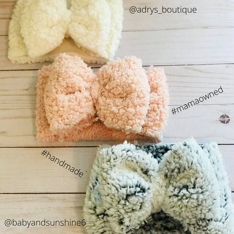 Adry's Boutique Baby Bows Baby Head Wraps Mommy Headbands Baby Bummies Handmade