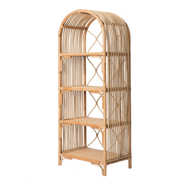 Collections Rattan Bookshelf