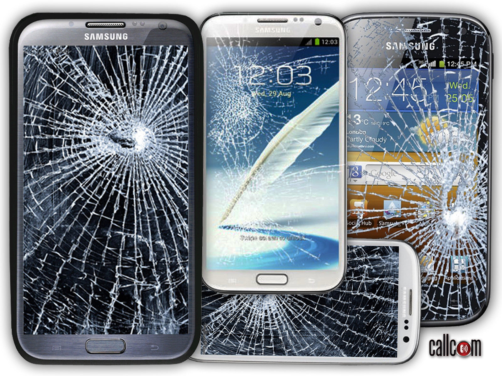 Image result for smartphone broken screens