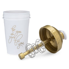 Load image into Gallery viewer, Be You Do You For You Gold on Performa 20oz Shaker Bottle