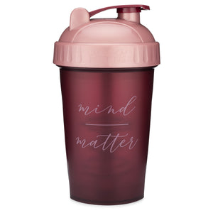 Mind Over Matter Maroon on Performa 20oz Shaker Bottle