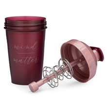 Load image into Gallery viewer, Mind Over Matter Maroon on Performa 20oz Shaker Bottle