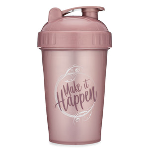 Make It Happen Rose on Performa 20oz Shaker Bottle
