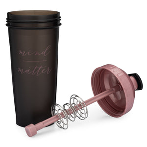 Mind Over Matter Black/Rose on Performa 28oz Shaker Bottle