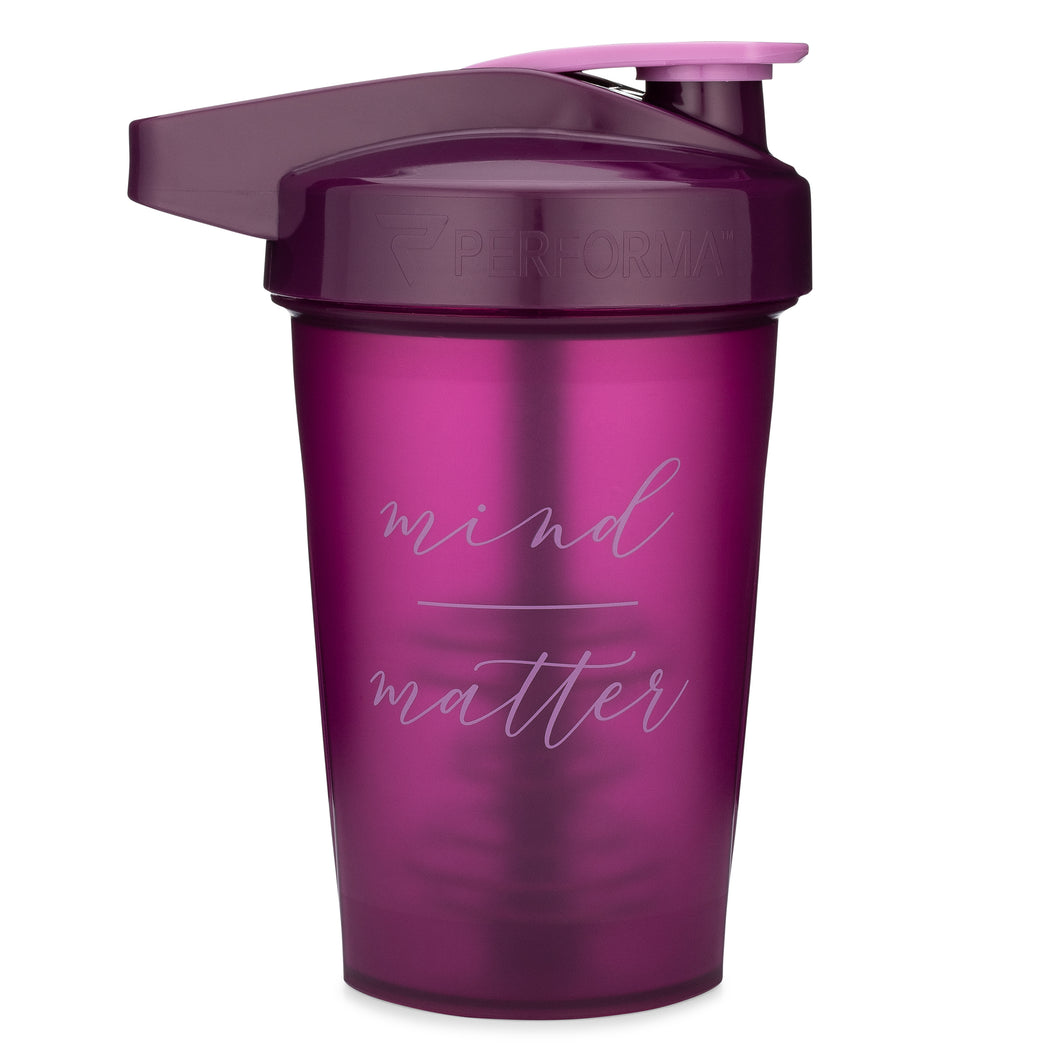 Mind Over Matter Plum on Performa 20oz Activ Shaker
