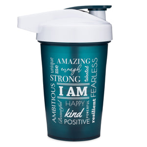 I Am Teal on Performa 20oz Activ Shaker
