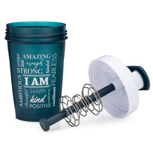 Load image into Gallery viewer, I Am Teal on Performa 20oz Activ Shaker