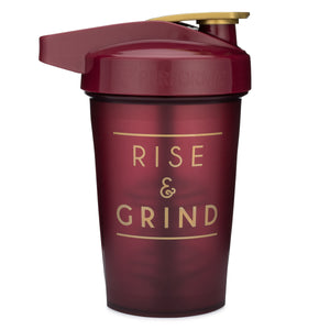 Rise & Grind Maroon on Performa 20oz Activ Shaker
