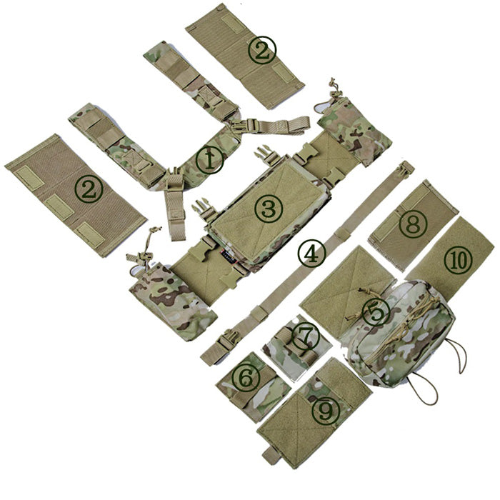 "Chest Rig ""Geronimo"""