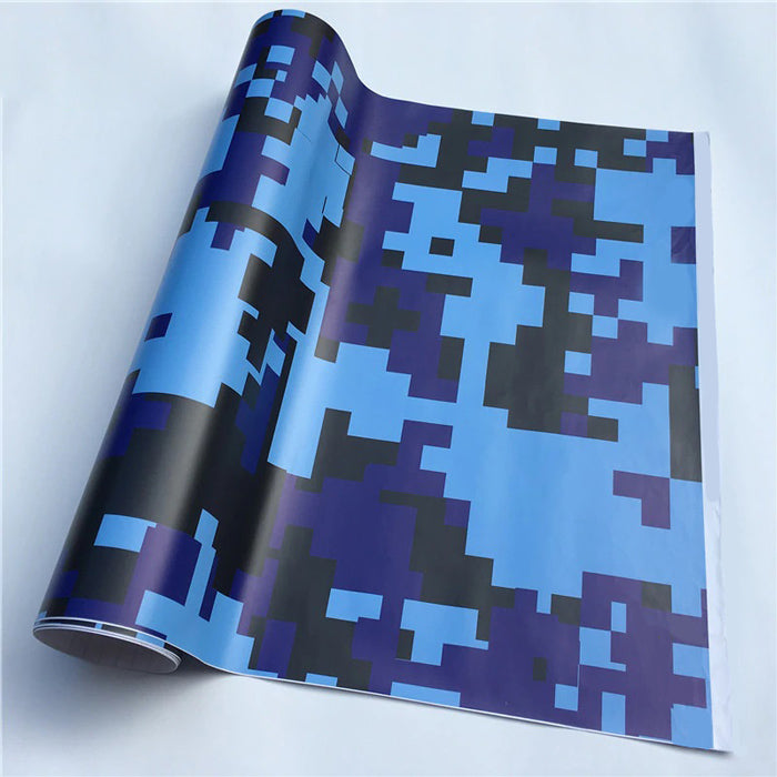 "Covering Camouflage Digital ""Bleu""-PASSION MILITAIRE™"
