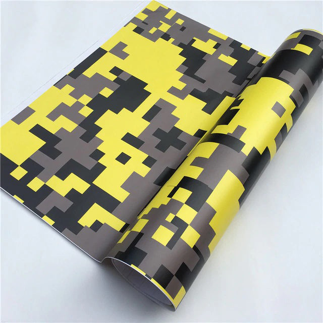 "Covering Camouflage Digital ""Jaune""-PASSION MILITAIRE™"
