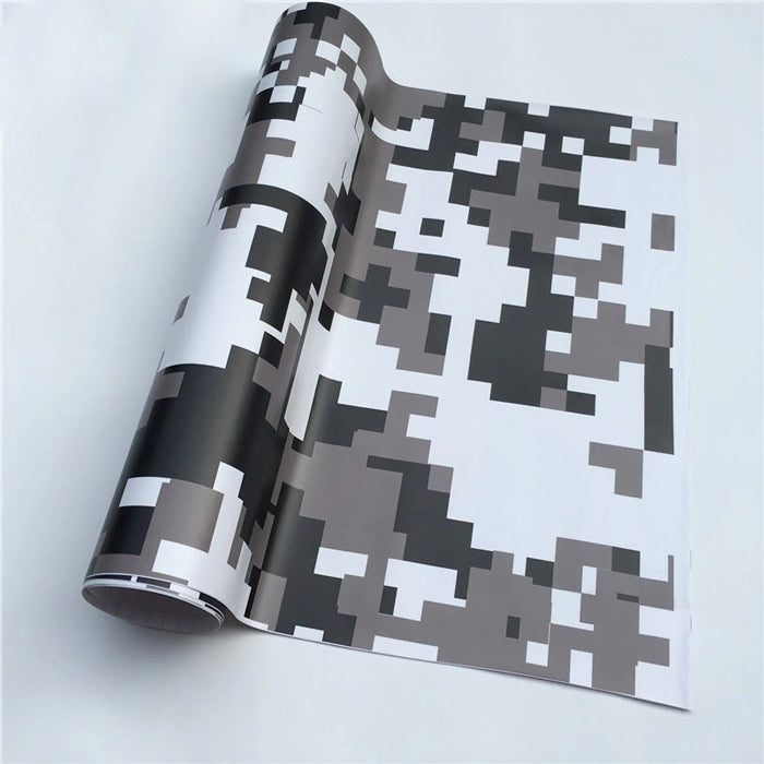 "Covering Camouflage Digital ""Snow""-PASSION MILITAIRE™"