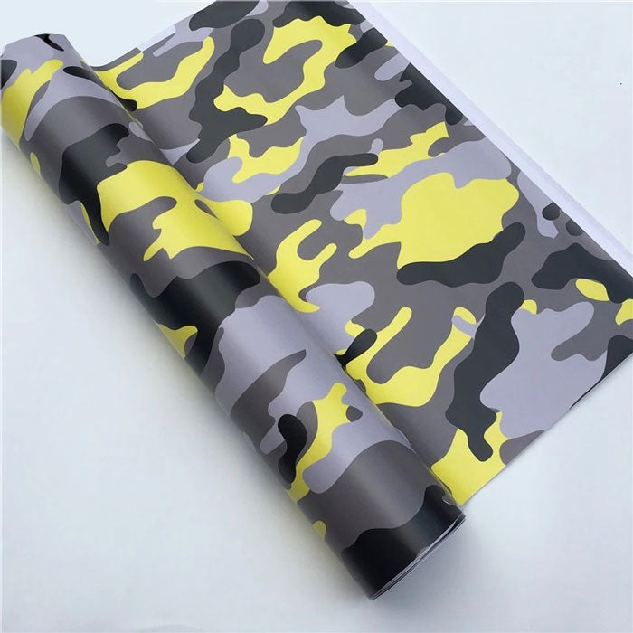 "Covering Camouflage Jaune ""KING TWO""-PASSION MILITAIRE™"