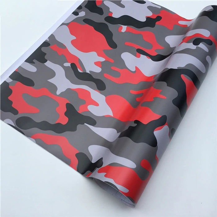 "Covering Camouflage ""Rouge""-PASSION MILITAIRE™"