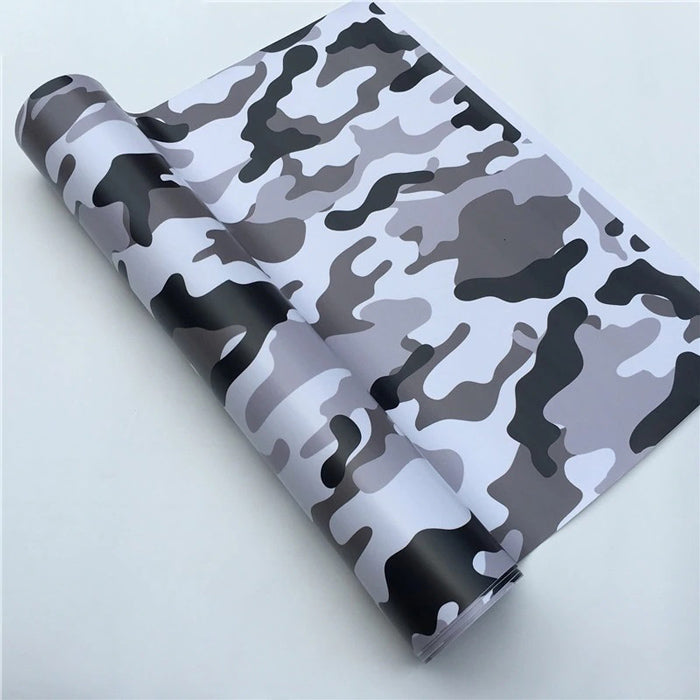 "Covering Camouflage ""Snow""-PASSION MILITAIRE™"