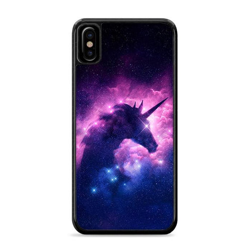 Unicorn Galaxy iPhone XS Max HÜLLE