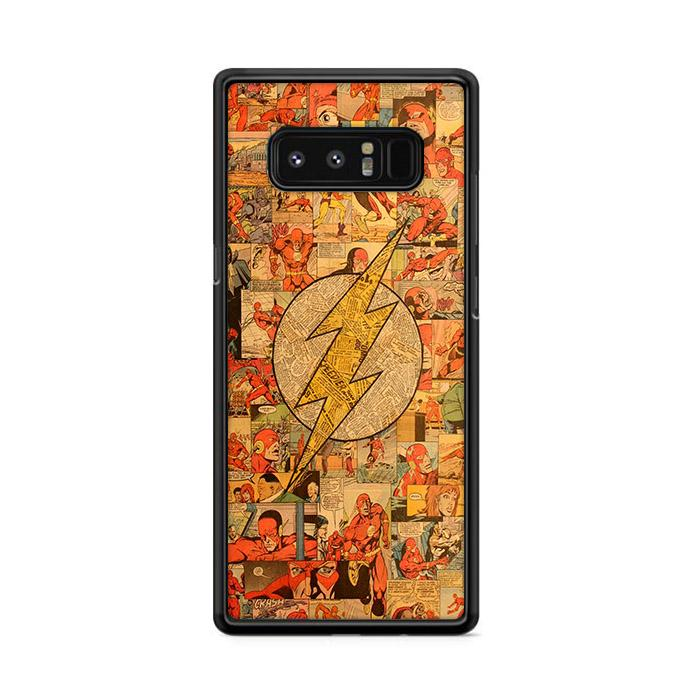 Classic The Flash Comic Collage Samsung Galaxy Note 8 HÜLLE