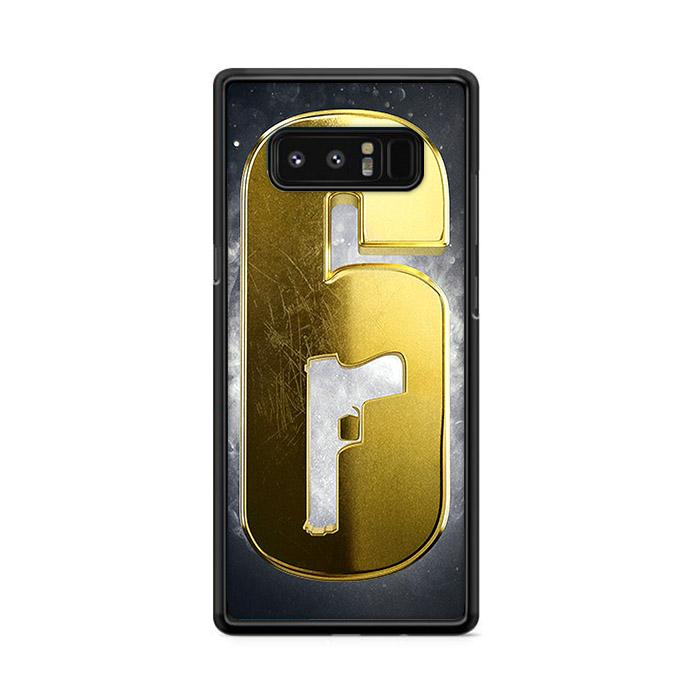 Golden Rainbow Six Siege Samsung Galaxy Note 8 HÜLLE
