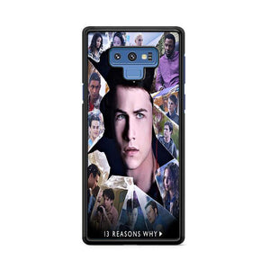 13 Reasons Why Cast Samsung Galaxy Note 9 HÜLLE