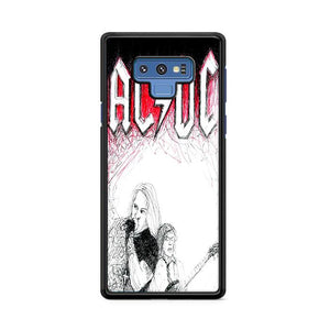 ACDC Band Samsung Galaxy Note 9 HÜLLE