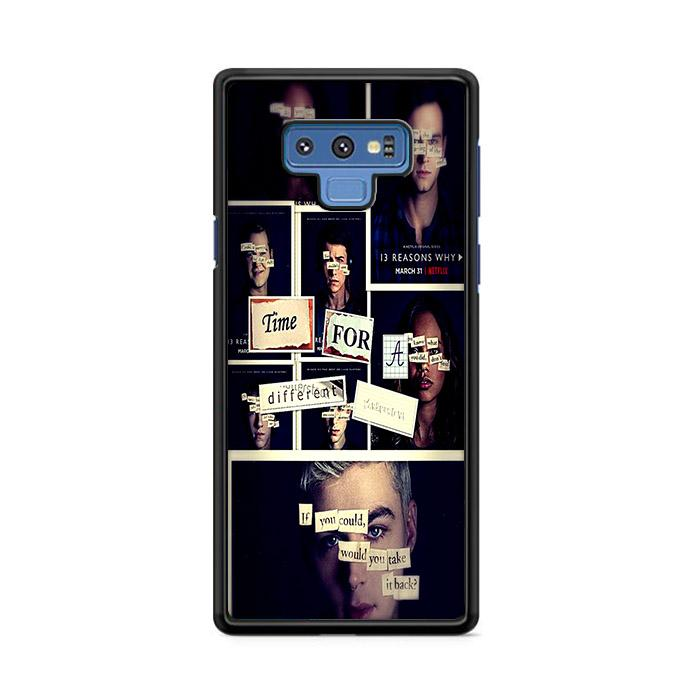 All 13 Reasons Why 2 Poster Samsung Galaxy Note 9 HÜLLE