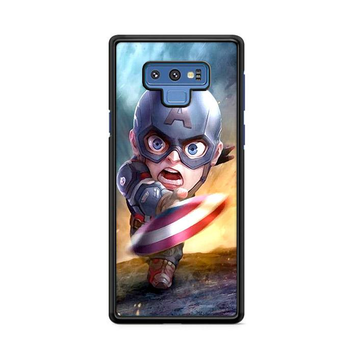 Chibi Fancy Captain America Samsung Galaxy Note 9 HÜLLE