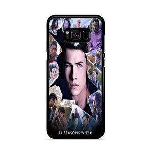 13 Reasons Why Cast Samsung Galaxy S8 HÜLLE