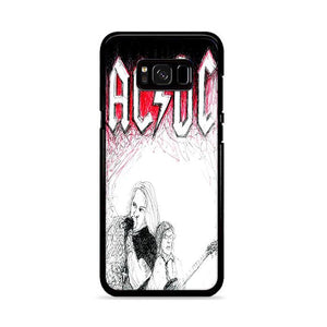 ACDC Band Samsung Galaxy S8 HÜLLE